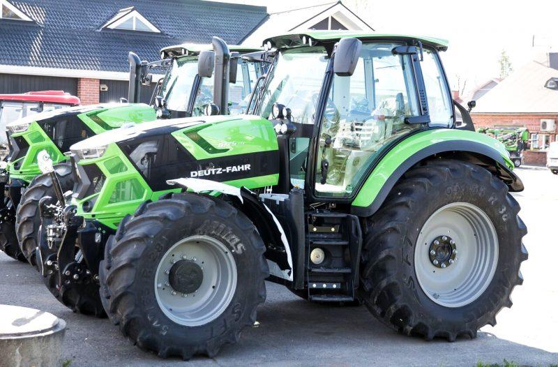 Suomen Traktorimyynti, Deutz-Fahr traktorit